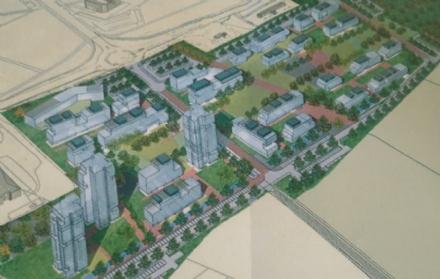 NICHELINO - Nasce il nuovo quartiere da 600 alloggi e tre torri da 20 piani