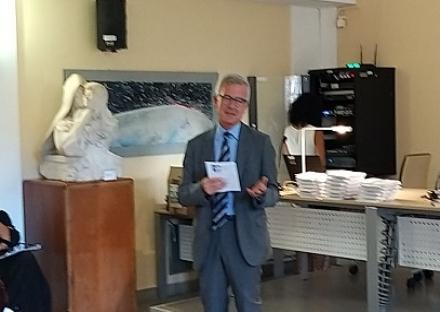 MONCALIERI -Il direttore generale dellAsl Massimo Uberti positivo al virus