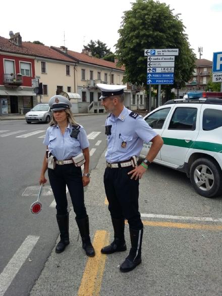 CANDIOLO - Arrivano le telecamere sul petto dei vigili