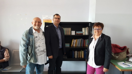 ORBASSANO - Una nuova biblioteca per «curare» i pazienti dellospedale San Luigi