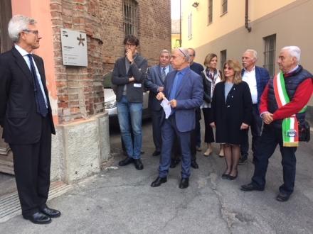CARMAGNOLA - Il giardino riabilitativo del San Lorenzo premiato dallOrdine degli architetti