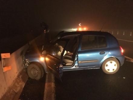 ORBASSANO - Ancora un incidente sul raccordo per Pinerolo: conducente ubriaco