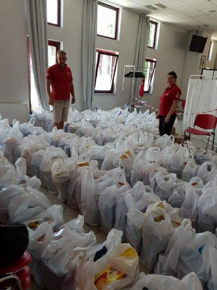 NICHELINO - La Croce Rossa locale aiuta 150 famiglie in difficoltà