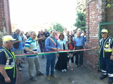 BRUINO - Inaugurato il parco del Castello, ora aperto a tutti i cittadini