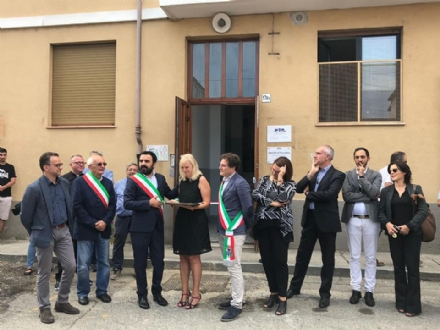 MONCALIERI - Inaugurato lhousing sociale a Borgo san Pietro