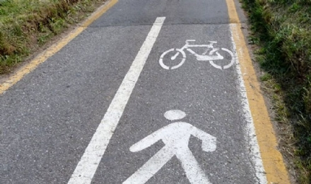VINOVO - Nasce la nuova pista ciclopedonale al Cavalieri
