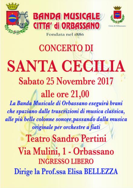 ORBASSANO - Sabato 25, concerto della banda musicale