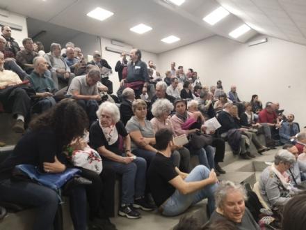 RIVALTA - Folla per il consiglio comunale aperto sul Tav