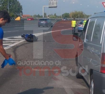 CRONACA - Il motociclista morto in tangenziale viveva a Carmagnola