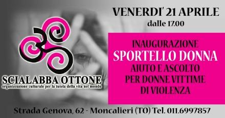 MONCALIERI - Nasce lo Sportello Donna in strada Genova 62