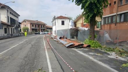 NUBIFRAGIO SULLA CINTURA SUD - Danni per milioni di euro a Piobesi, Vinovo, Candiolo e La Loggia