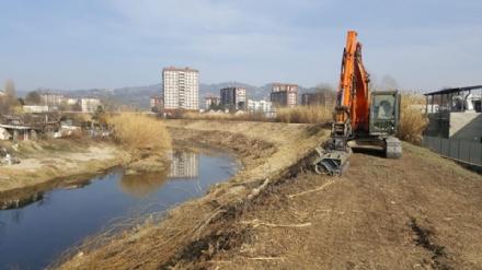 MONCALIERI - Avviati nuovi interventi per la sicurezza dei fiumi cittadini