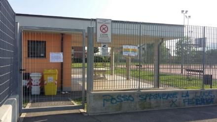 RIVALTA - Riapre limpianto sportivo chiuso per troppi vandalismi