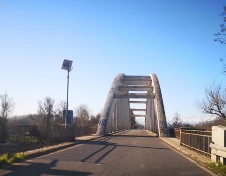 CARIGNANO - Arrivano i fondi ministeriali per il restyling del ponte sul Po