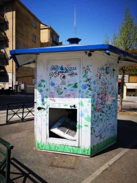 NICHELINO - Devastata la casetta dellacqua in via Moncenisio