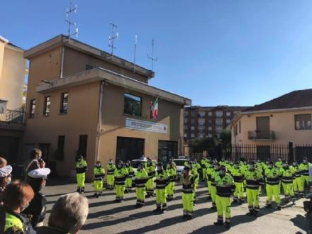 NICHELINO - La protezione civile premiata per il lavoro durante il lockdown