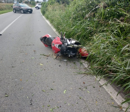NICHELINO - Incidente in via Buffa: amputata una gamba ad un motociclista