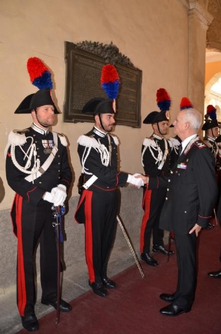 MONCALIERI - Il comandante generale dellArma fa visita ai carabinieri di Moncalieri