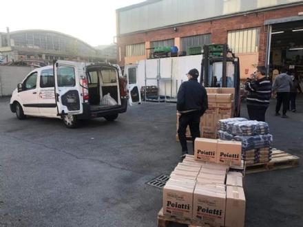 MONCALIERI - Undici quintali di pasta per le persone bisognose: distribuiscono i Lions