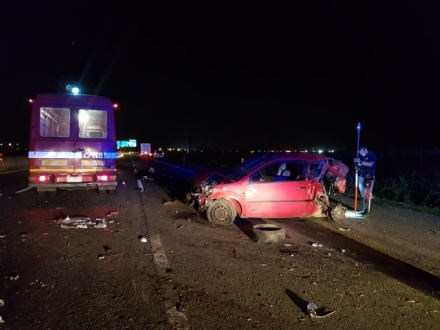 NICHELINO - Tragedia in tangenziale: nella notte muore un pensionato in un incidente