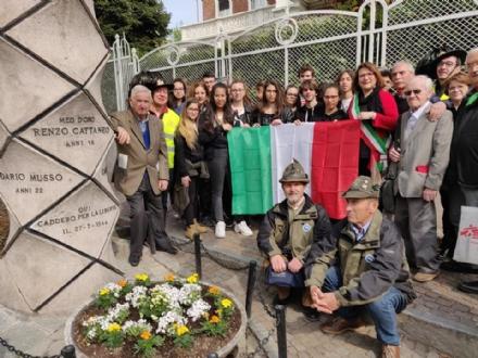 MONCALIERI - I ragazzi nel viaggio nella memoria «Aspettando il 25 aprile»
