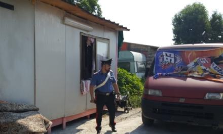 BEINASCO - Blitz allalba nel campo nomadi di Borgaretto: un arresto e tre baracche demolite