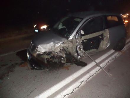 ORBASSANO - Carambola di auto in circonvallazione esterna: un ferito