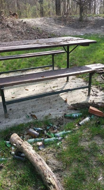 CARMAGNOLA - Il parco del Gerbasso è una discarica a cielo aperto
