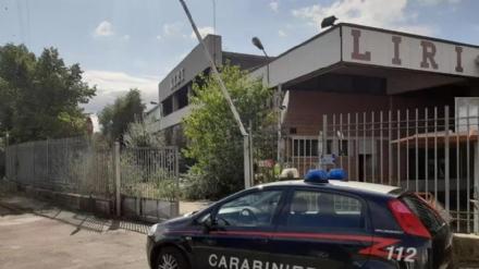 NICHELINO - Ritrovato dentro la ex Liri un furgone rubato con un carico di 300 litri di gasolio