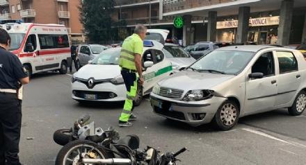 MONCALIERI - Giornata nera sulle strade: altro incidente in strada Torino