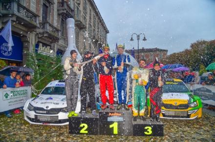 RALLY - Fabrizio Bianchi, pilota di Trofarello, vince il quinto Rally del Piemonte