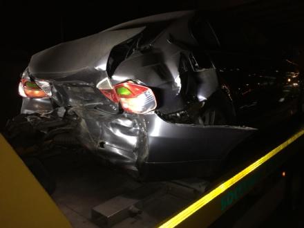 TANGENZIALE SUD - Incidente al Sito: cinque auto distrutte e sei feriti - FOTO