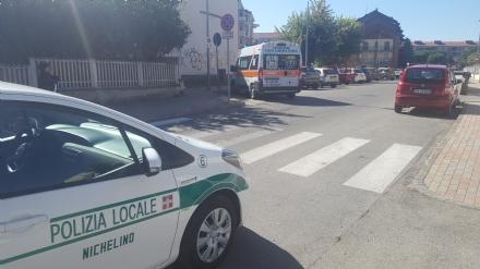 NICHELINO - Investito un 26enne in via San Matteo