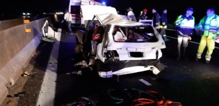 ORBASSANO - Incidente mortale nella serata di domenica allaltezza del Sito: morto un uomo di Orbassano - FOTO