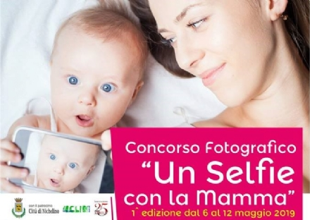 NICHELINO - «Un selfie con la mamma»: un nuovo concorso per mamme e bimbi