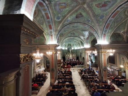 CARMAGNOLA - Si pensa al restauro degli interni della chiesa antica di Salsasio