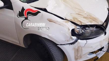 ORBASSANO-STUPINIGI - Il pirata della strada ai carabinieri: «Dopo lincidente sono scappato per paura» - FOTO