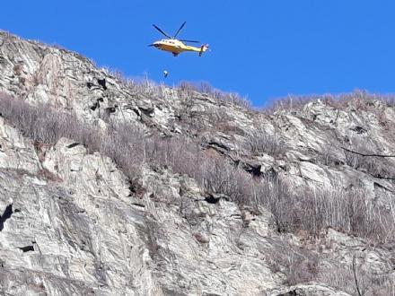 MONCALIERI - Cade dalla via ferrata: 46enne soccorsa e salvata dal Soccorso Alpino