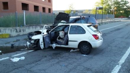 BRUINO - In coma il conducente della Fiesta coinvolto nello scontro di via Volvera