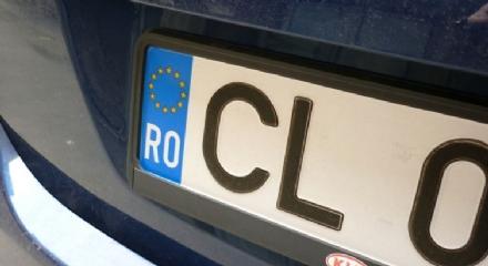 CINTURA - Due auto immatricolate allestero multate secondo la nuova legge