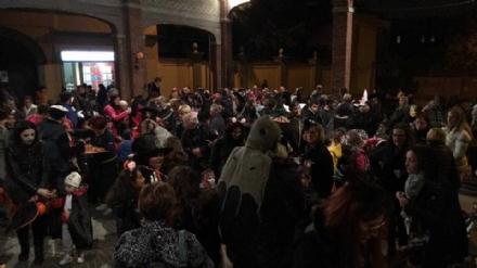 RIVALTA - Grande successo per la prima festa di Halloween nel centro città