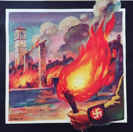 CARMAGNOLA - Salsasio ricorda lincendio nazifascista del 25 luglio 1944
