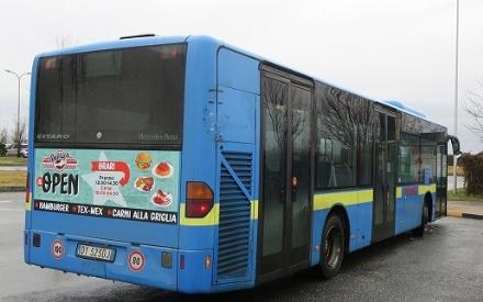 MONCALIERI - Nuova linea autobus gratuita fino al 7 febbraio