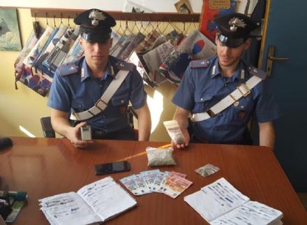 CARMAGNOLA - Pusher fermato dai carabinieri: in unagenda tutti i nomi dei clienti