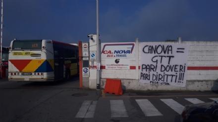 MONCALIERI - In corso lo sciopero degli autisti ex Ca.Nova: disagi su alcune linee