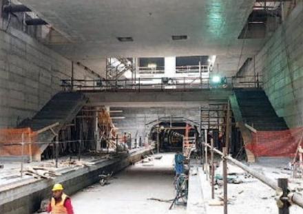 MONCALIERI - Prende forma la fermata Bengasi della Metro