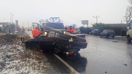 ORBASSANO - Schianto sulla Sp6: ferita una giovane automobilista