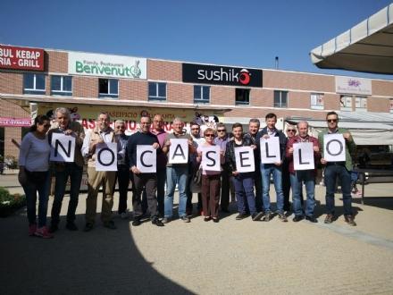 RIVALTA - Manifestazione a Pasta contro il casello di Beinasco