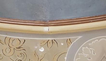 MONCALIERI - Crepe nel soffitto, il sindaco costretto ad abbandonare il suo ufficio