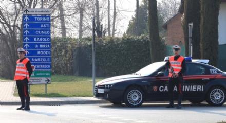 MONCALIERI - Pendolare del furto fermato dai carabinieri